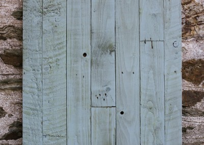 Food photography background surface board - Reclaimed Planked Blue