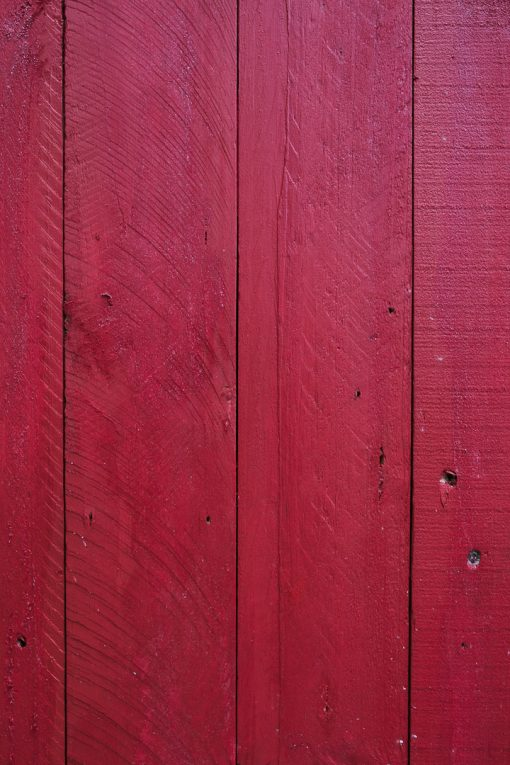 Food photography background surface board - Reclaimed Planked - Rustic Red