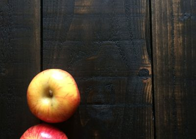 Planked Dark Stain - food photography background